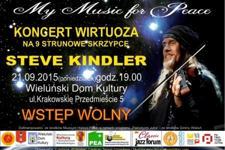 Muzyka Świata wwykonaniu Steve Kindlera