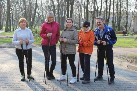 Zalety Nordic Walking
