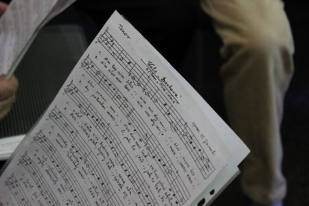 Fotorelacja zpróby chóru