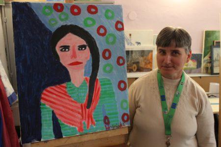 Zmagania zportretem nawarsztatach integracyjnych