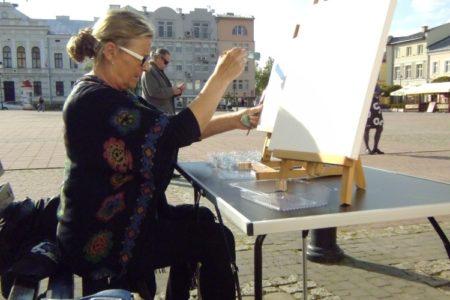 Wanda Musiał laureatką ogólnopolskiego konkursu plastycznego.
