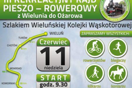III Edycja Szlakiem Wąskotorówki