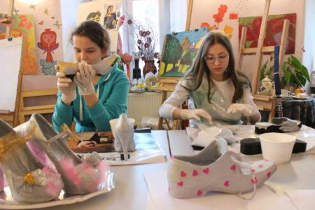 Młodzieżowa pracownia obuwia