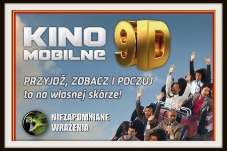 Zapraszamy 31.05-1.06 naMobilne Kino 9D!