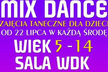 Zajęcia Mix Dance – zapraszamy dozapisów